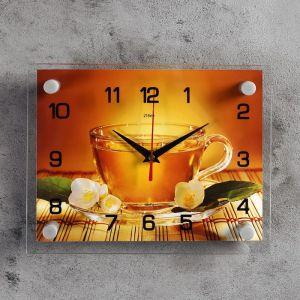 "Часы настенные, серия: Кухня, ""Чай"", 20х26 см  микс 2267889"