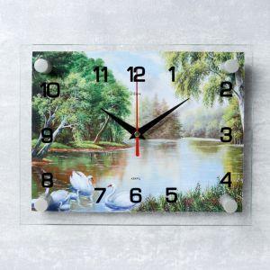 """Часы настенные, серия: Природа, """"Природа"""" микс 20х26 см 888068"""