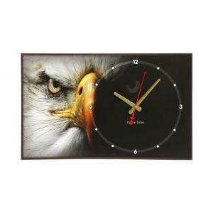 """Часы настенные, серия: Животные, """"Орёл"""", 37х60 см 1192861"""