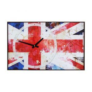 """Часы настенные, серия: Символ, """"Британский флаг"""", 37х60  см, микс 1301248"""