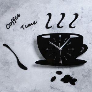 """Часы настенные, серия: Кухня, """"Время для кофе"""", 50 см 3098303"""