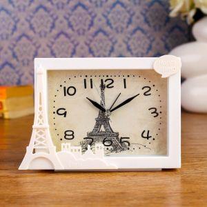 """Будильник """"Пейзажи Парижа"""", 16.5х11.5 см, микс   4482501"""