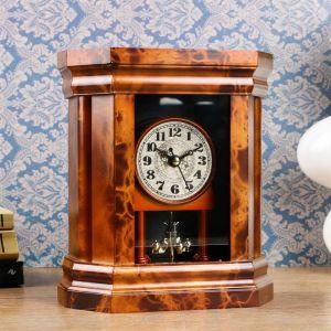 """Часы каминные """"Классические"""", 18.5х16х7 см 3620843"""