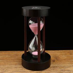 Часы песочные на 10 минут, круглые, микс песка, 8х14 см 2996832