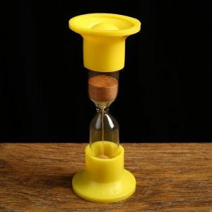 Часы песочные настольные на 3 минуты, упаковка пакет, микс  1546053