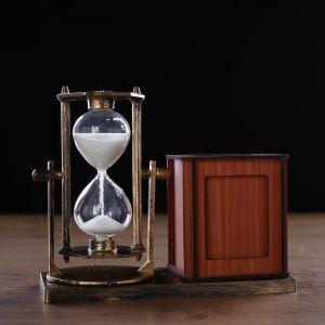 """Часы песочные """"Селин"""" с карандашницей и фоторамкой, 15.5х6.4х12 см   4727119"""