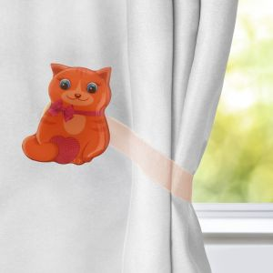 Подхват для штор «Кошка»
