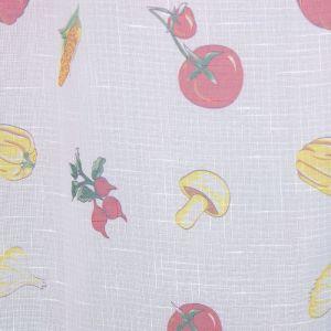 """Тюль для кухни """"Этель"""" Овощное ассорти 130х180 см, 100% п/э"""