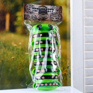 """Пластиковый термометр оконный """"Гусеница"""" в пакете   4444060"""