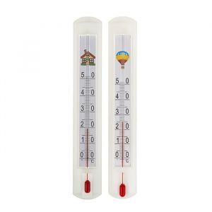 Термометр комнатный (0°С<Т<+50°С), упаковка картон микс 1546045