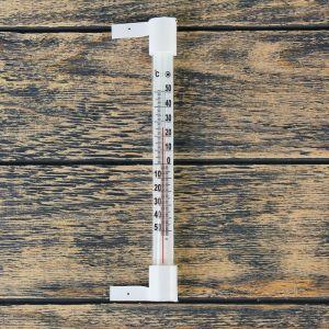 "Термометр наружный (-50°С<Т<+50°С) на ""гвоздике"", упаковка картон микс 1546034"