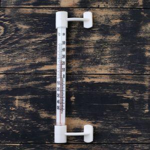 "Термометр оконный (-50°С<Т<+50°С) на ""липучке"", упаковка картон 1546035"