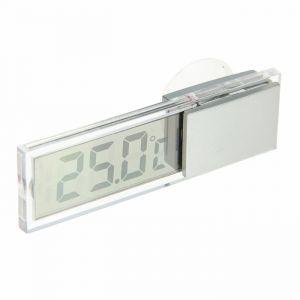 Термометр электронный на присоске прозрачный на батарейках, пластик 669277