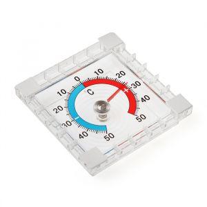 Термометр механический LuazON, уличный, квадратный, 8 ? 8 см 4916458