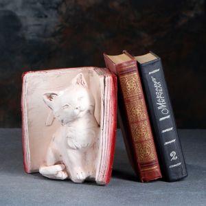 """Подставка для книг """"Котята - А"""", состаренный бордо 20см  1659365"""
