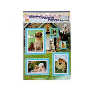 """Наклейка интерьерная плоская """"Собаки/Жирафы"""" МИКС 53х36 см 1717763"""