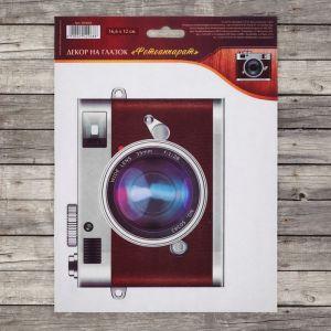 """Декор на глазок """"Фотоаппарат"""", 16,6 х 12,2 см   2942068"""