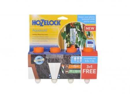 Конусы керамические поливочные HoZelock 2717 для вазонов 30-40 см, 4 шт.
