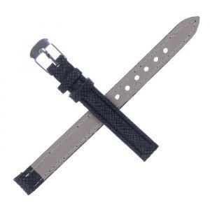 Ремешок для часов, 10 мм, чёрная чешуйка