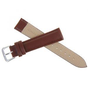 Ремешок для часов, 18мм, экокожа, коричневый, 20см 1268470