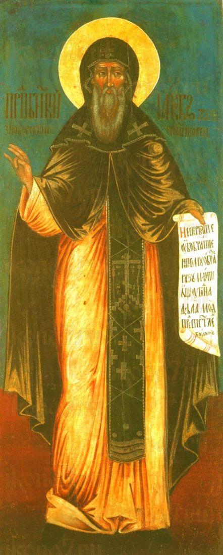 Икона Иаков Железноборовский преподобный