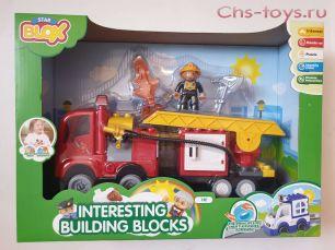 Конструктор Star BLOX Пожарная станция 3501 (Аналог LEGO DUPLO)