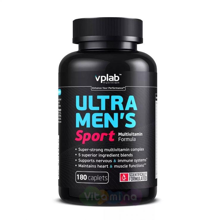 VPLab Витаминно-минеральный комплекс для мужчин Ultra Men's Sport Multivitamin Formula, 180 капс