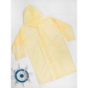"""Дождевик """"Горошек"""", желтый, универсальный размер    3977573"""