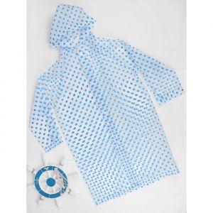"""Дождевик """"Горошек"""", синий, универсальный размер    3977572"""