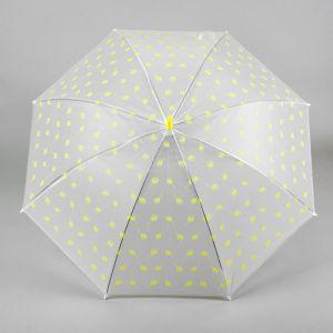 Зонт детский «Шарики», жёлтый