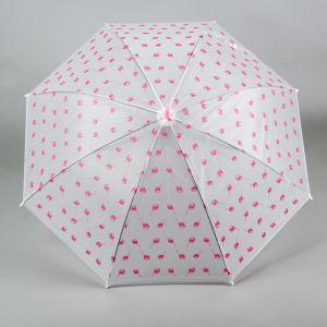 Зонт детский «Шарики», розовый