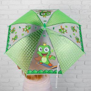 Зонт детский 3Д «Лягушата»