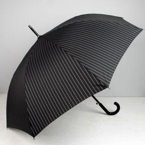 Зонт полуавтоматический, 8 спиц, R = 56, цвет чёрный