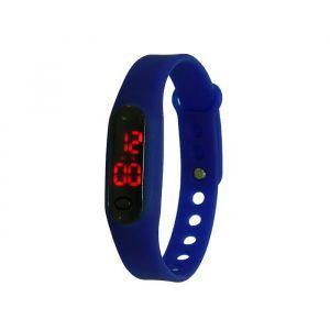 """Часы наручные """"Арендал"""", электронные, синие, l=22.5 см 1716944"""