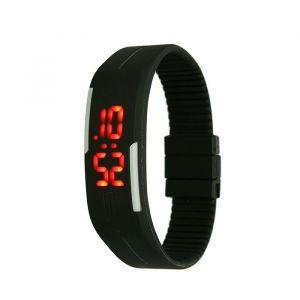"""Часы наручные """"Скайер"""", электронные, черные, l=25 см 1716939"""