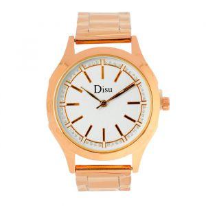 """Часы наручные женские """"Disu"""", циферблат d=3.2 см, золото   4407080"""