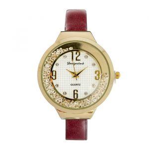 """Часы наручные женские """"Shengmeimk"""", ремешок из экокожи, микс   4407017"""