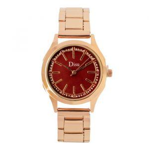 """Часы наручные женские """"Алианса"""", циферблат d=3.2 см, золото , микс  4407079"""