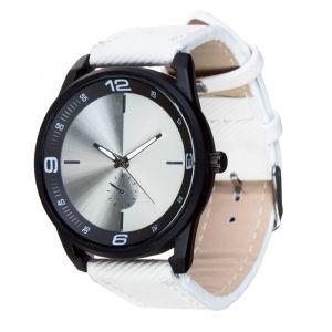 Часы наручные, d=4.5см, белый ремешок 20мм 3620986