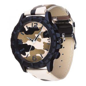 """Часы наручные """"Буфорд"""", коричневый камуфляж, d=5 см 3620996"""