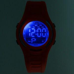 """Часы наручные """"Лайм"""", электронные, с силиконовым ремешком,микс   3912768"""