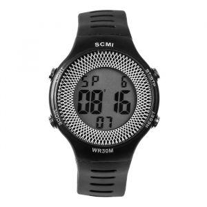 """Часы наручные """"Шервуд"""", электронные, с календарем, l=23 см, черные   4447479"""