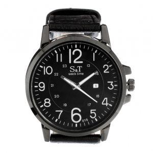 """Часы наручные мужские """"Seek time-брутал"""" с датой d=4.7 см, микс   4429143"""