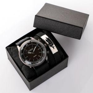 """Подарочный набор 2 в 1 """"Колипа"""": наручные часы и браслет   4508138"""