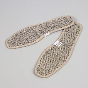 Стельки для обуви, окантовка, 36 р-р, пара, цвет серый