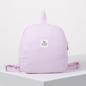 Рюкзак молодёжный, отдел на молнии, цвет розовый