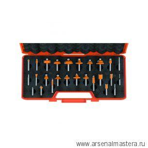 CMT 900.003.00 Комплект 26 фрез концевых S8 RH. Идеальный набор для продвинутого столяра
