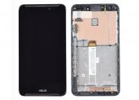 LCD (Дисплей) Asus ME560CG Fonepad Note 6 (в сборе с тачскрином) (в раме) (black) Оригинал