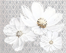 Панно Sfumato Grey Floret