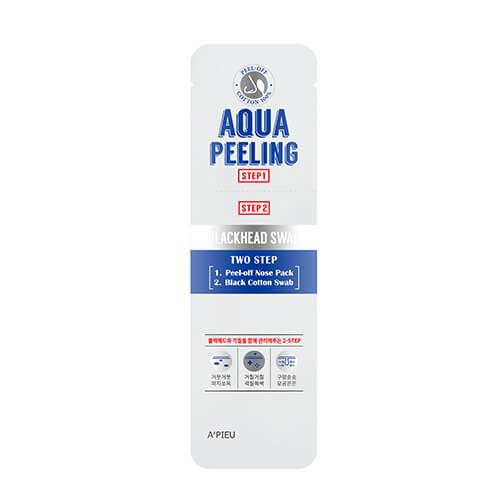 Двухшаговый набор для удаления черных точек A Pieu Aqua Peeling Blackhead Swab Two Step
